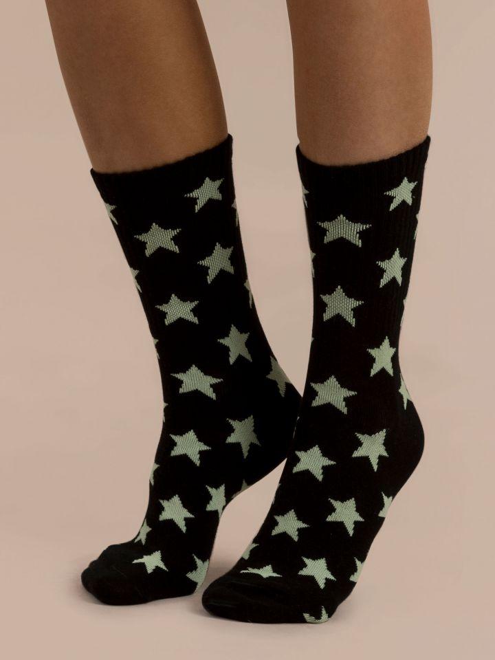 גרביים זוהרות בחושך SPACE GRL