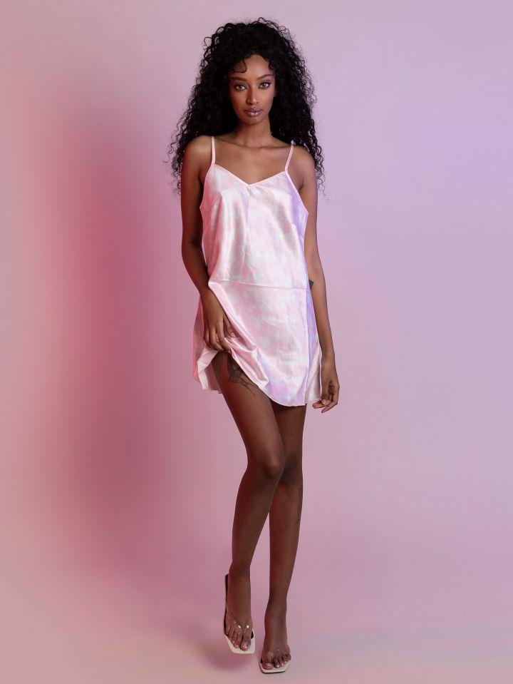 שמלת סאטן ANGEL BABY