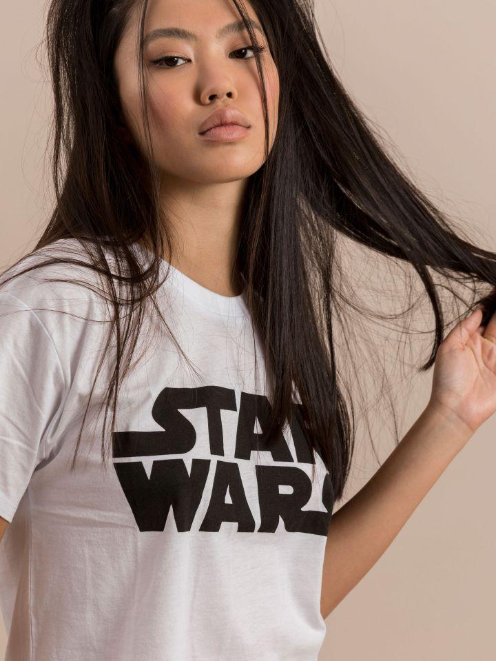 חולצת קרופ SPACE GRL