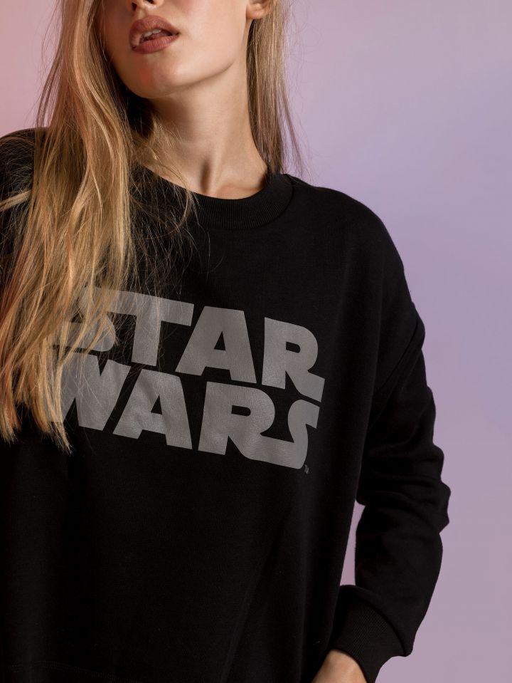 חולצת פוטר מלחמת הכוכבים SPACE GRL
