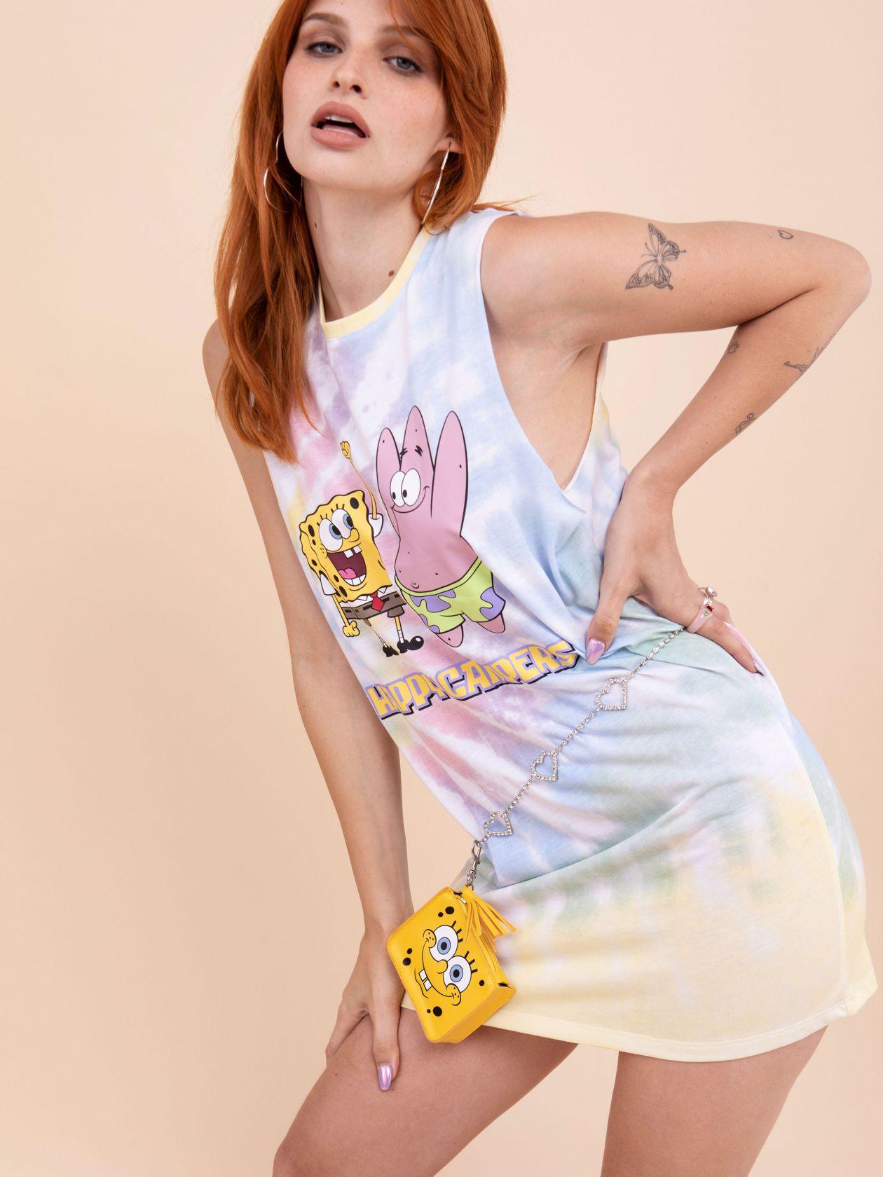 שמלת טאי-דאי SPONGEBOB
