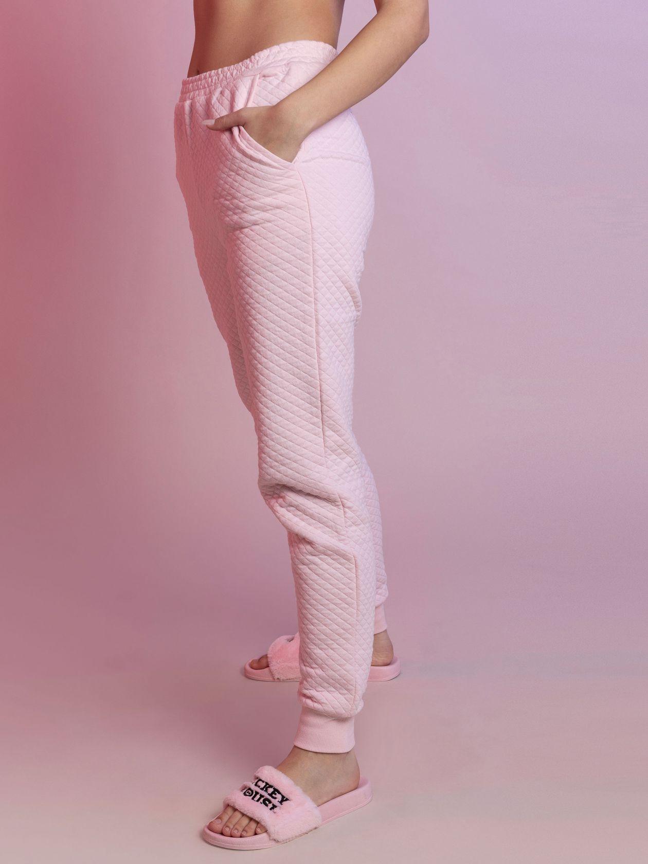 מכנסי קוילט ארוכים SO BASIC