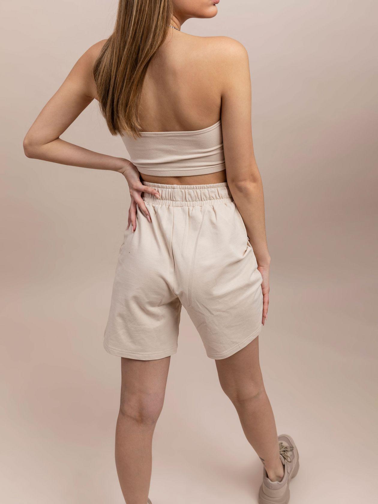 סט מכנסי באגי וטופ בנדו SO BASIC
