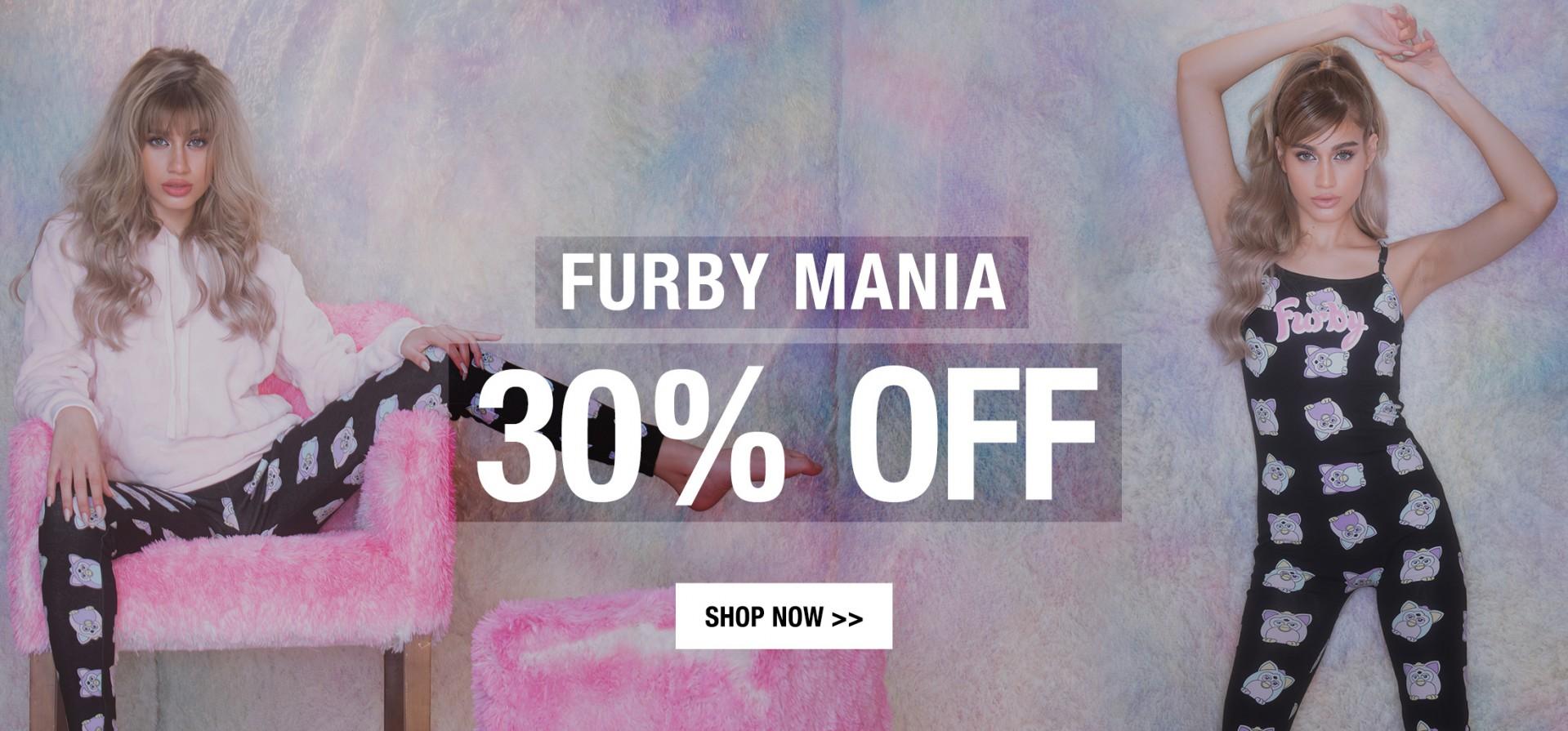 30% OFF FURBY MANIA